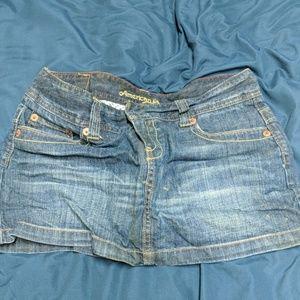 American eagle jeans skirt